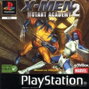 X men mutant academy 2 ps1 скачать торрент